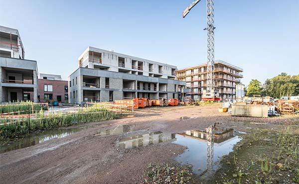 Optrekken quarantaine: productie bouw moet gegarandeerd blijven