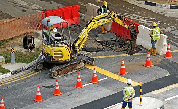 Code rood voor wegen- en rioleringsaannemers