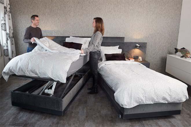 Ontdek de gemakken van een hoog laag bed