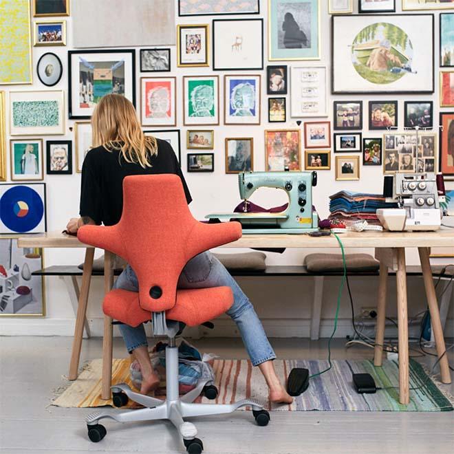 Vraag naar ergonomisch kantoormeubilair vergroot door telewerkers