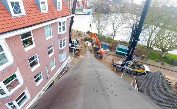 Amsterdam koppelt warmtenetten om wijken aardgasvrij te maken