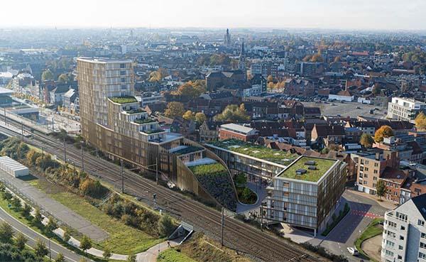 Stadsvernieuwingsproject Roelevard wordt volledig CO2-neutraal