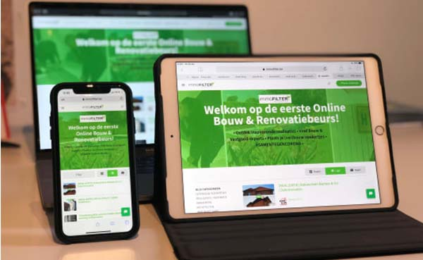 immoFILTER lanceert eerste en permanente online bouwbeurs
