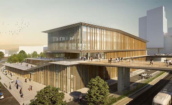 Besix France mag het station Saint-Denis Pleyel (Grand Paris Express) bouwen