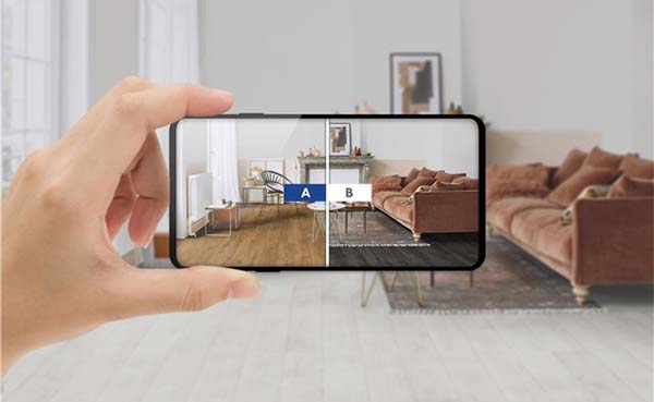 Met de nieuwe Quick-Step RoomViewer visualiseer je