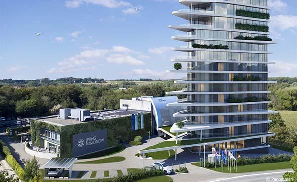 Hansgrohe en Living Tomorrow bouwen aan de toekomst