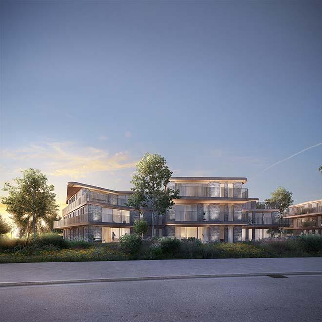 Nieuwbouwproiect aan de Vredesbrug te Blaasveld - Willebroek