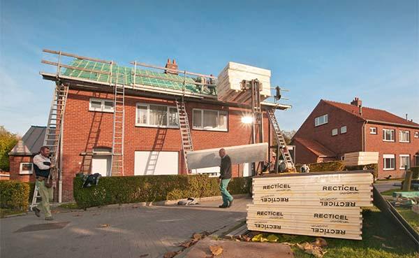 Renovatie stijgt in Vlaanderen, daalt in Wallonië