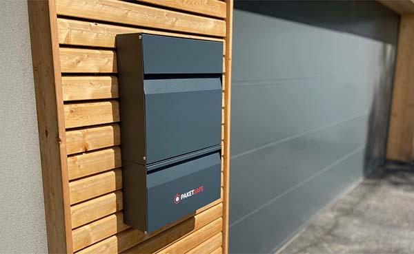 Pakketsafe Air pakket- en brievenbus: de slimme pakjesbus van Loxone