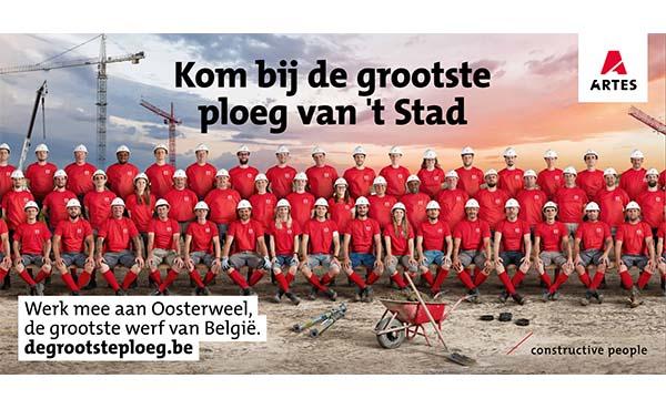 Artes Group rekruteert de grootste ploeg van 't Stad