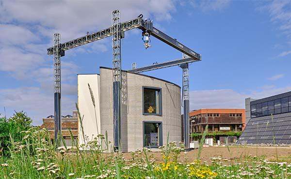 Recticel Insulation stapt mee in het innovatieve 3D-bouwproject van Kamp C