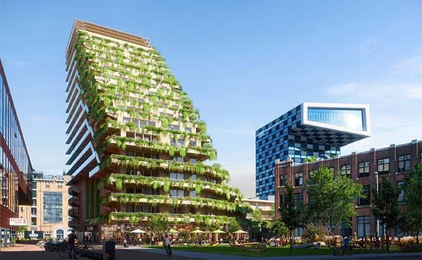 Pioniers gezocht voor eerste houten woongebouw van Rotterdam