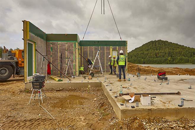 MBS bouwt 250 duurzame recreatiewoningen in amper 10 maanden tijd
