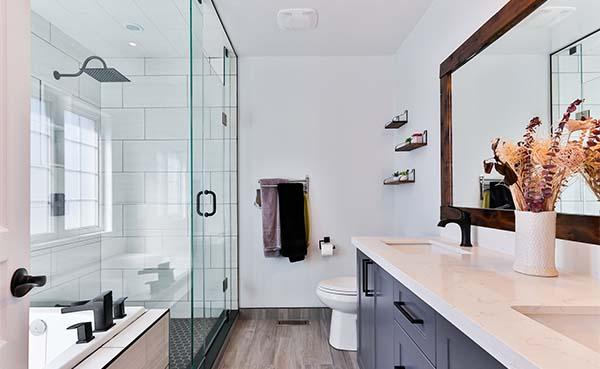 Een nieuwe badkamer. Waar moet je over nadenken?