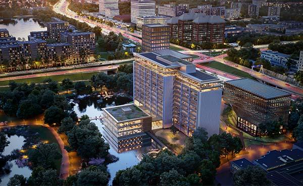 HofmanDujardin revitaliseert Rembrandt Park One gebouw Amsterdam
