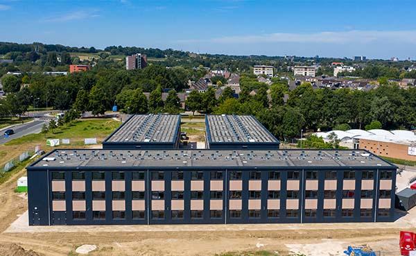 Jan Snel realiseert in vier maanden hoogwaardige studentenwoningen in Maastricht