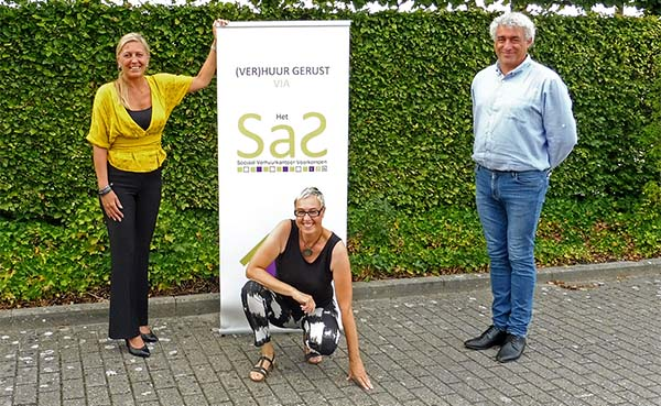 Nieuwe bestuursploeg voor Sociaal verhuurkantoor Het SaS