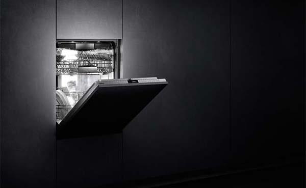 Vaatwasmachine met verlichting