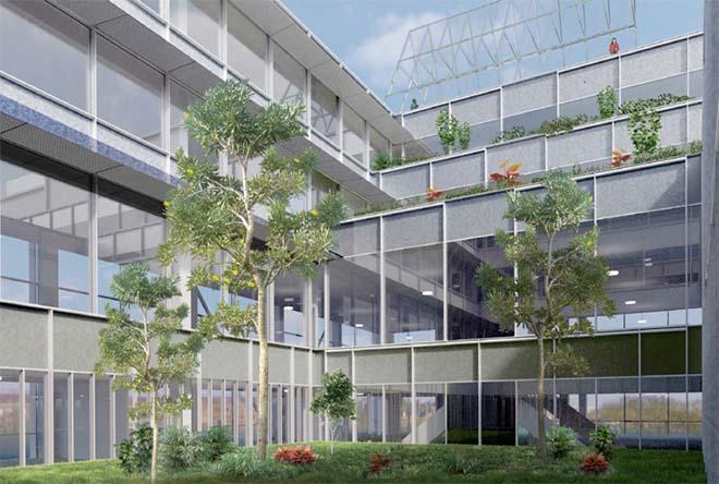 Besix - Valbesina wint contract voor de bouw van het RTBF Media Square