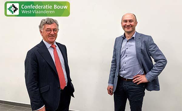 Pedro Pattyn nieuwe voorzitter Confederatie Bouw West-Vlaanderen