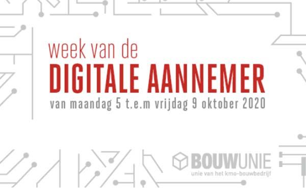 De Week van de Digitale Aannemer van start