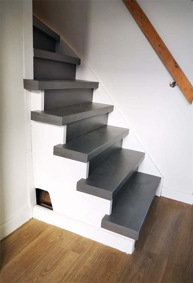 Je trap onderhoudsvrij? Tuurlijk kan dat! Gewoon je trap renoveren.