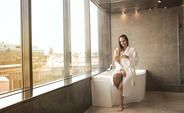 Maak je badkamer compleet met mooie dames badjassen