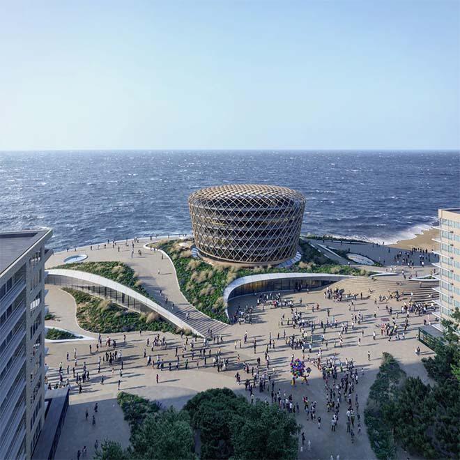 Nieuw Casinogebouw van Middelkerke