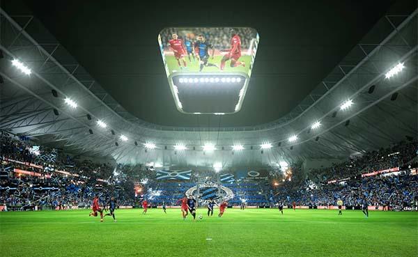 Club Brugge krijgt een nieuw stadion met originele en innovatieve architectuur
