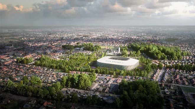 Nieuw stadion voor Club Brugge