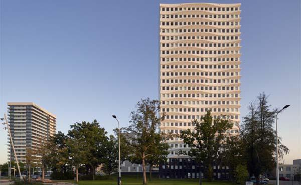 Een nieuwe woontoren voor Kanaleneiland in Utrecht