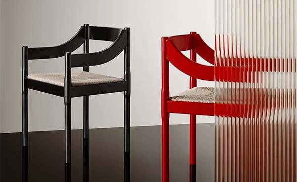 Fritz Hansen doet jubileumheruitgave van Carimate stoel