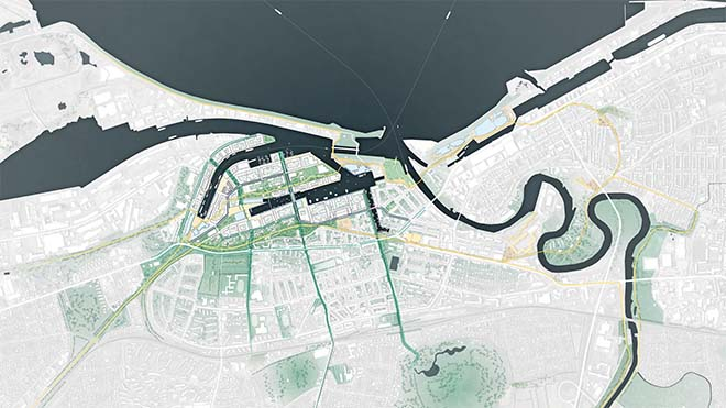 De Zwarte Hond - Een veerkrachtig plan voor een haventransformatie in Bremerhaven