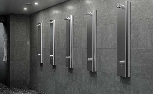 Schell presenteert nieuw douchepaneel van hoogwaardig RVS