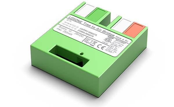 Eenvoudige integratie van draadloze componenten in een bestaande installatie
