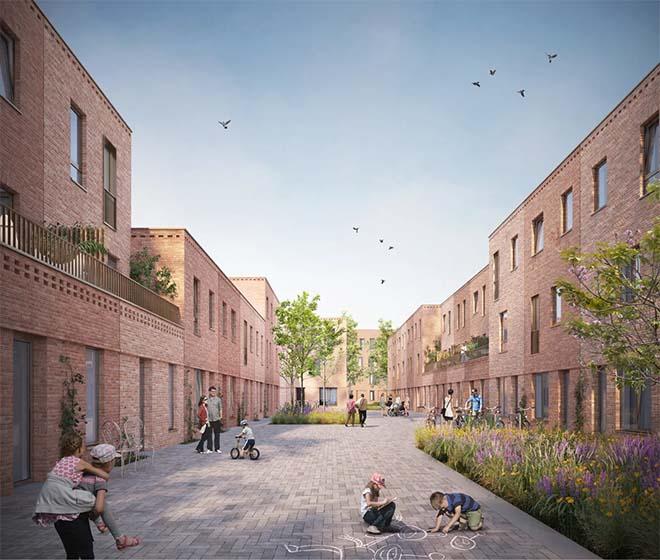 nieuwe Saffrou-wijk in Oudenaarde