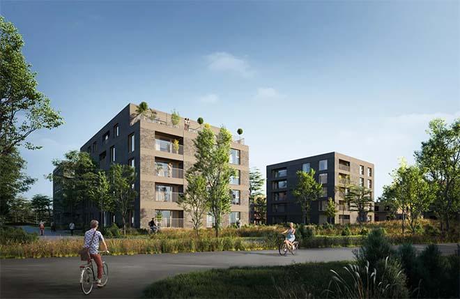 Triple Living bouwt groene BEN-woonsite in Wilrijk