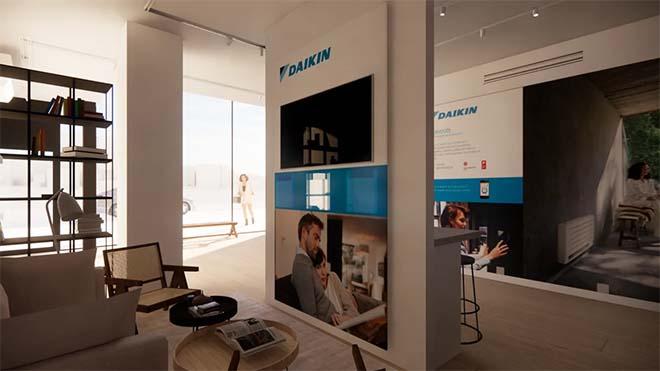 Gloednieuw Training en Experience Center van Daikin in Gent