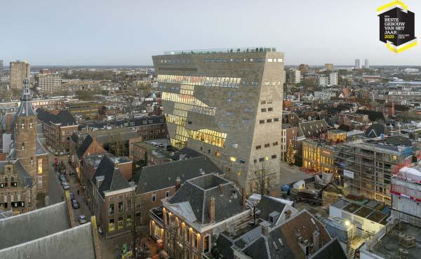 Forum Groningen is BNA Beste Gebouw van het Jaar 2020