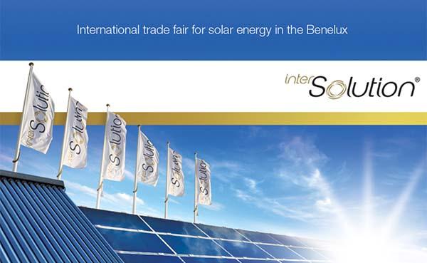 10e editie solarvakbeurs InterSolution verplaatst naar 2022