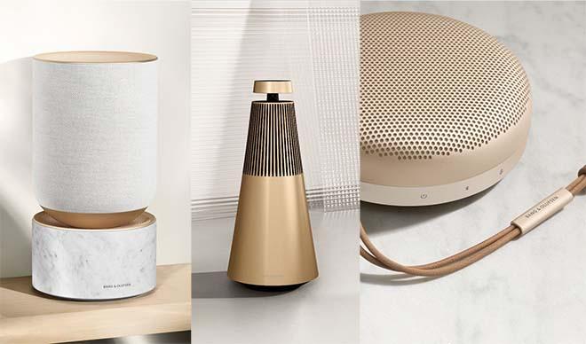 Bang & Olufsen Introduceert de Golden Collection