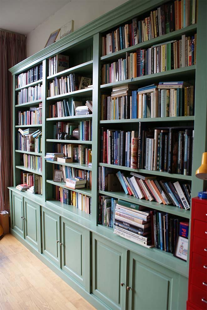 Een boekenkast op maat laten maken