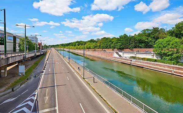 Masterplan voor Van Praetzone in Brussel - drie werelden op 27 hectare