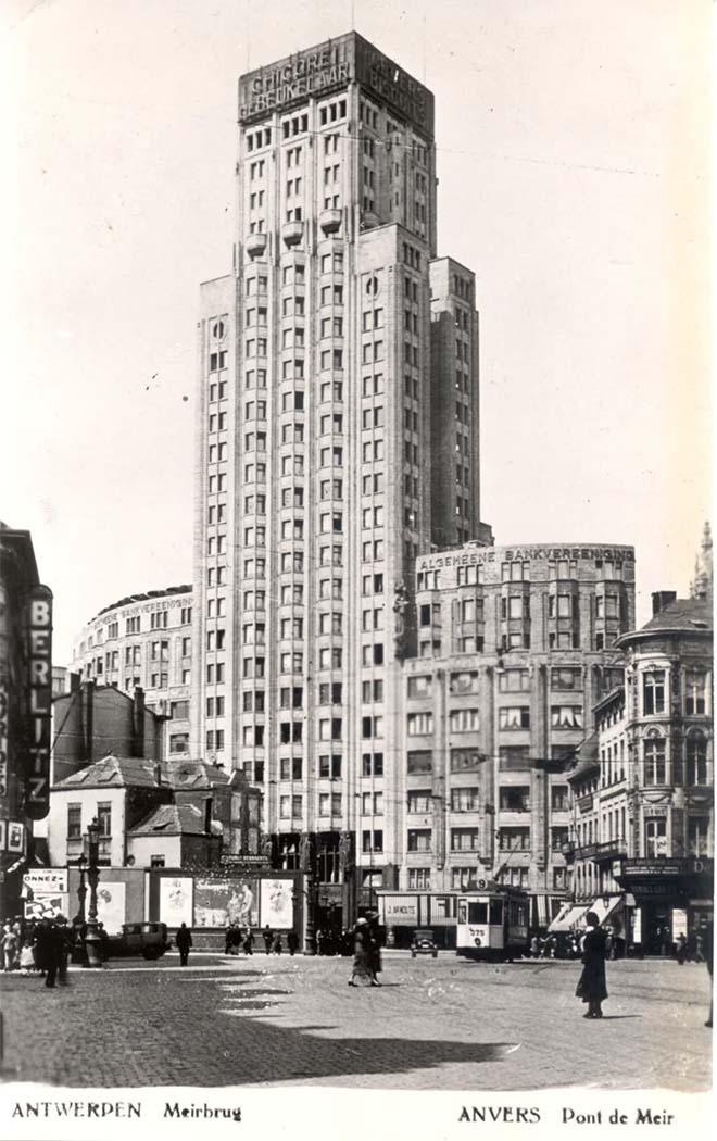 De Antwerpse boerentoren in de jaren 1930