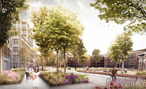 Stad Antwerpen legt ontwikkelingskader site Mariahof vast
