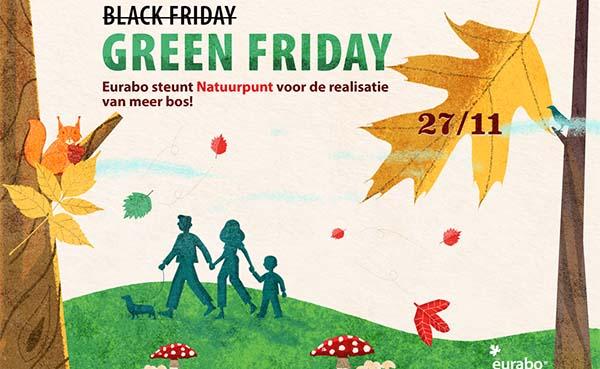Geen black Friday, maar green Friday bij Eurabo