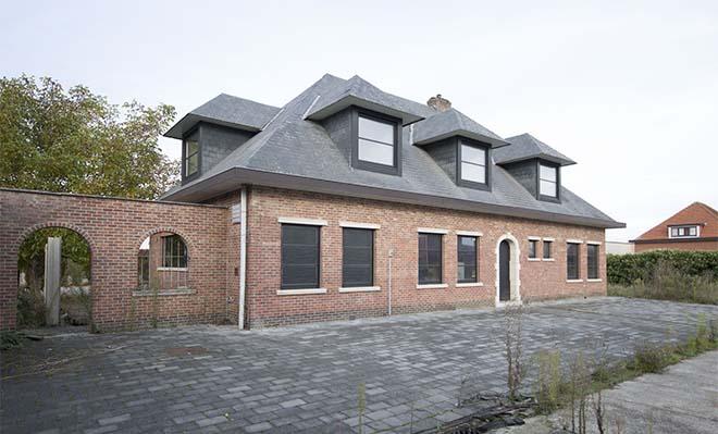 Slachthuis annex woning in Aarschot