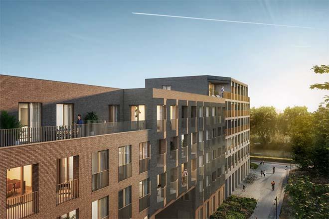 Nieuwe Komet-wijk in Mechelen