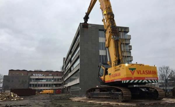 BAM Wonen start sloop voormalige FNV-pand in Woerden