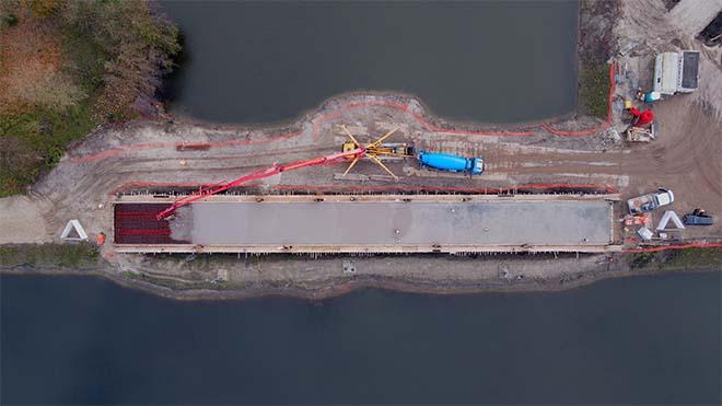 Cementloos beton verandert bruggenbouw in Nederland